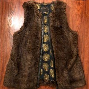 Sanctuary faux fur vest